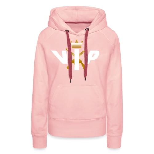 V.I.P White - Frauen Premium Hoodie