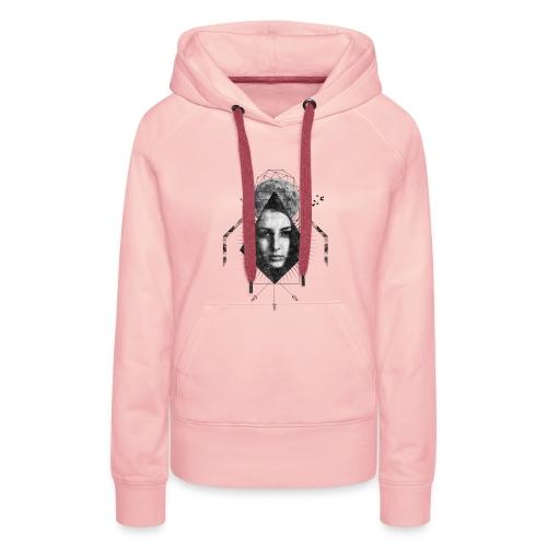 MOON GIRL - Vrouwen Premium hoodie