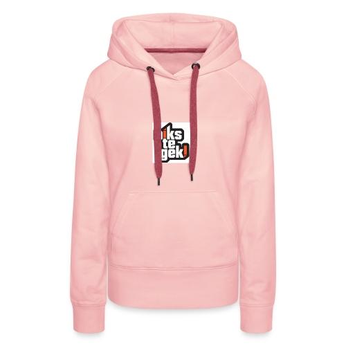 nikstegek shirt - Vrouwen Premium hoodie