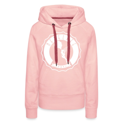 Nebelfee Street Logo weiß - Frauen Premium Hoodie