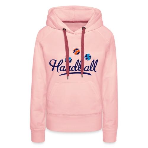 Handball - Frauen Premium Hoodie
