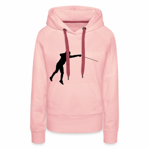 Jumping Fencer - Frauen Premium Hoodie