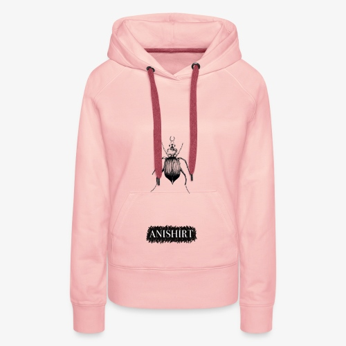 ANISHIRT Insect / Beetle / Tentyria Nomas - Women's Premium Hoodie
