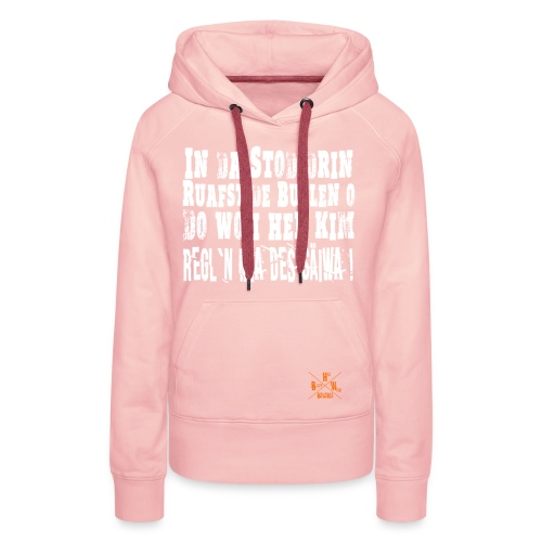 SaeiwaRegeln1 - Frauen Premium Hoodie