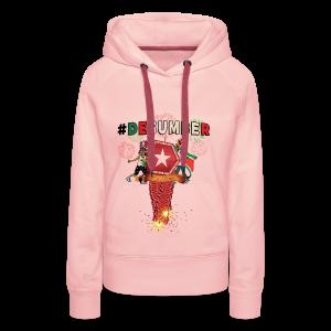 #DESUMBER - Vrouwen Premium hoodie