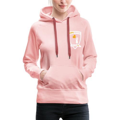 DIPG Wappen Weiß - Frauen Premium Hoodie