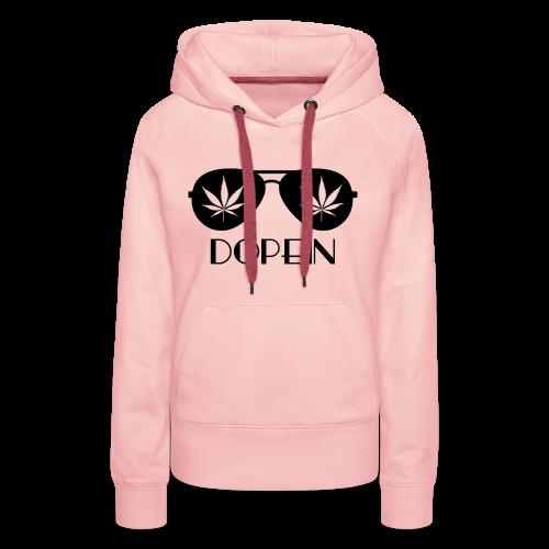 DOPEIN - Weed Sunglasses - Frauen Premium Hoodie