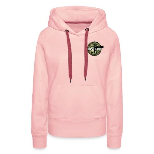 LOGO ONSHORE CAMO - Sweat-shirt à capuche Premium pour femmes