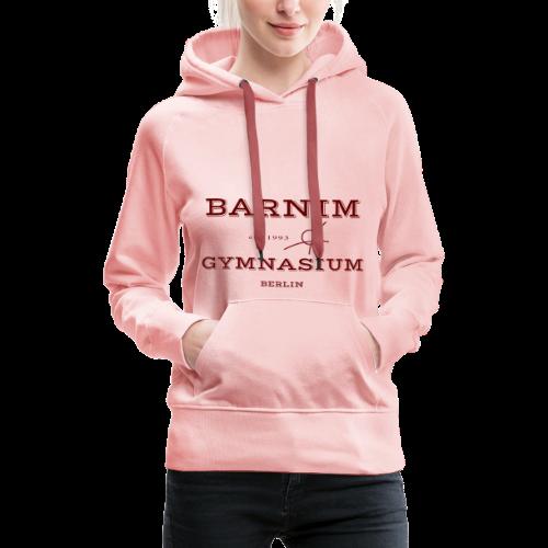 Barnim est. 1993 (rot) - Frauen Premium Hoodie