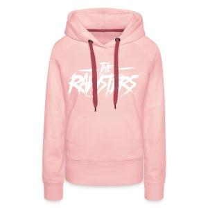 The Rawsters Logo - Sweat-shirt à capuche Premium pour femmes