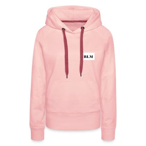 BLM - Sweat-shirt à capuche Premium pour femmes