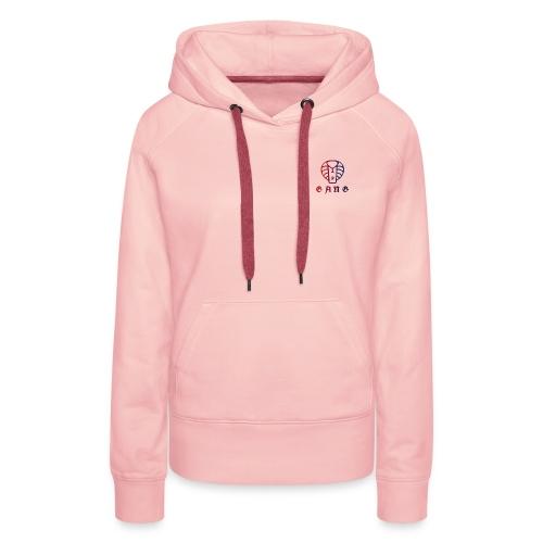 PGANGP - Sweat-shirt à capuche Premium pour femmes