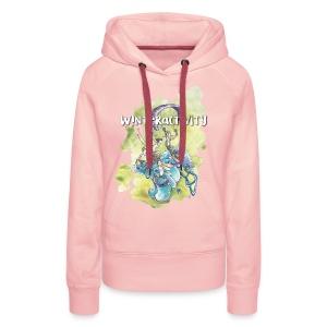 WINTERACTIVITY - Sweat-shirt à capuche Premium pour femmes