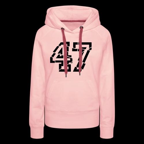 47 broken - Frauen Premium Hoodie