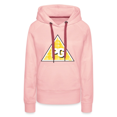 Plato games Logo Groot - Vrouwen Premium hoodie