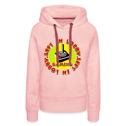 Left In Lobby Gaming - Women's Premium Hoodie