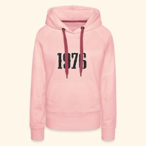 1976 - Vrouwen Premium hoodie