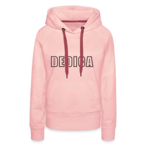 dedica logo - Frauen Premium Hoodie