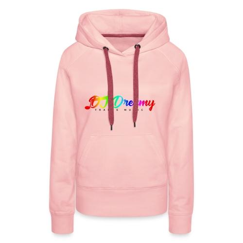 DJ Dreamy Logo PNG Gradient 1 - Women's Premium Hoodie