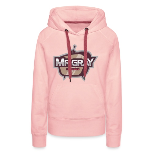 MrGrayTV - Dame Premium hættetrøje