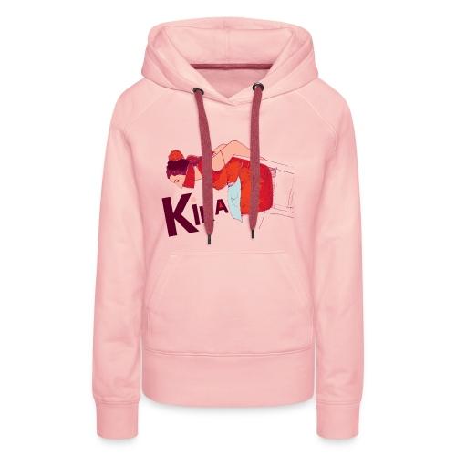 kika-png - Women's Premium Hoodie