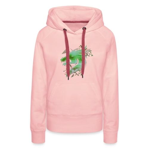 Green Dragon - Women's Premium Hoodie