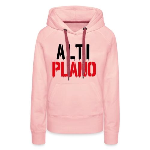 altiplano logo - Frauen Premium Hoodie