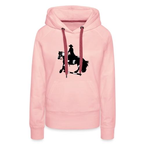 Tinker Galopp I Stange - Frauen Premium Hoodie