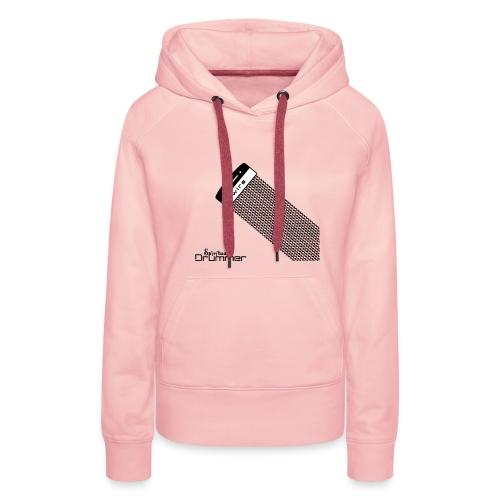Wire Design - Sweat-shirt à capuche Premium pour femmes