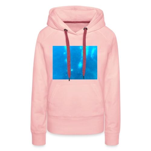 Taucher unter Wasser - Frauen Premium Hoodie