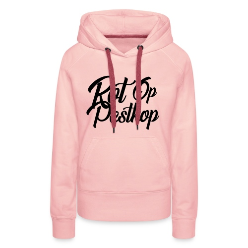 Rot Op Pestkop - Curly Black - Vrouwen Premium hoodie
