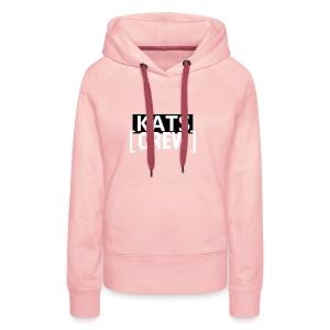 KATS CREW Logo - Bluza damska Premium z kapturem