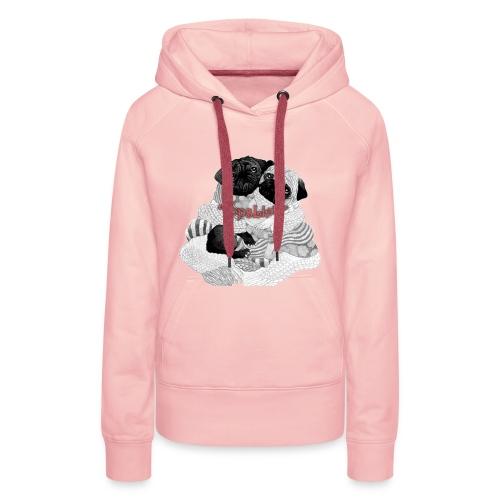 Mopsi - Frauen Premium Hoodie