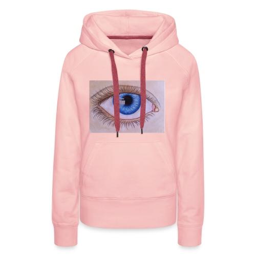 Blue eye - Frauen Premium Hoodie