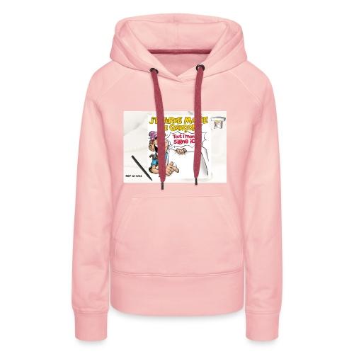 A11234 - Sweat-shirt à capuche Premium pour femmes