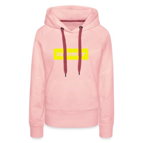 summer - Vrouwen Premium hoodie