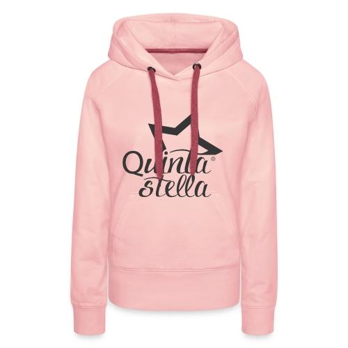 Quinta Stella - Felpa con cappuccio premium da donna