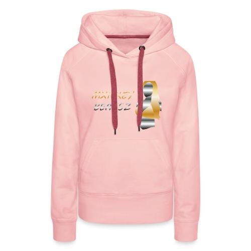 Mxnkey Beatsz Snapback - Vrouwen Premium hoodie