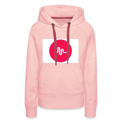 musical.ly - Premium hettegenser for kvinner