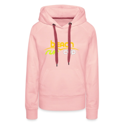 Beach_Run_Cup_d--tour-- - Sweat-shirt à capuche Premium pour femmes