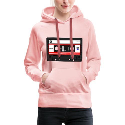 Compact Cassette Tape denola - Frauen Premium Hoodie