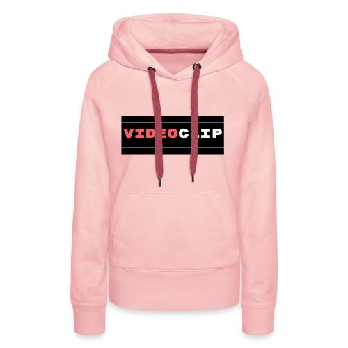 VideoClip-tekst - Vrouwen Premium hoodie