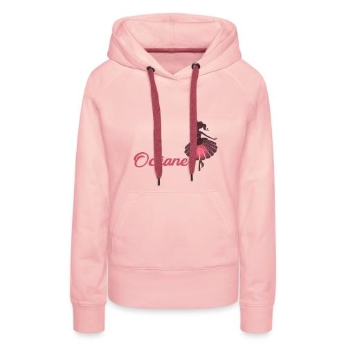 Océane fée - Sweat-shirt à capuche Premium pour femmes