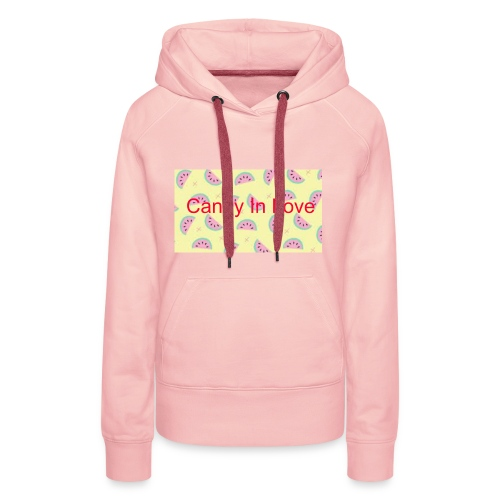 Merchandise Candy In Love - Vrouwen Premium hoodie
