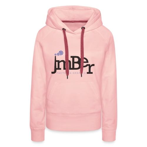 Factoria gràfica JmBer - Sudadera con capucha premium para mujer