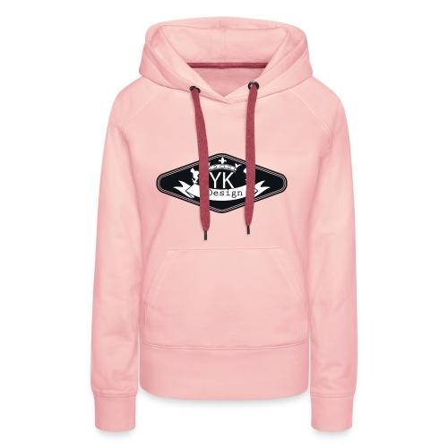 Yanik design - Sweat-shirt à capuche Premium pour femmes