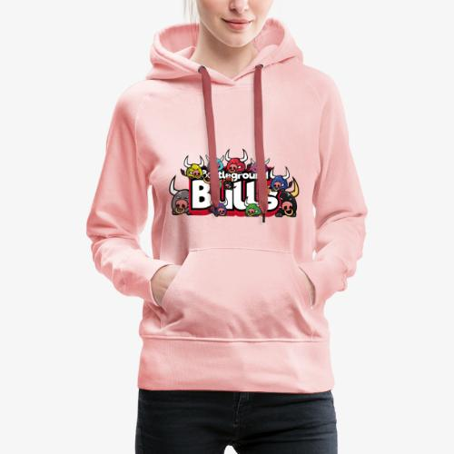 Bulls-Familie - Frauen Premium Hoodie