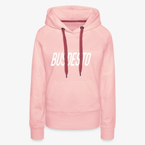 Busdesto plain shirt apparel - Women's Premium Hoodie