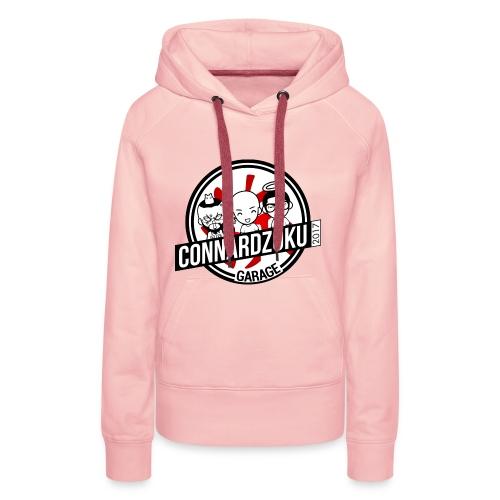 Connardzoku Garage - Sweat-shirt à capuche Premium pour femmes
