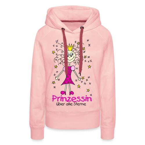 Prinzessin ueber alle Sterne - Frauen Premium Hoodie